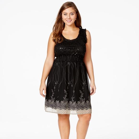 65 Off American Rag Dresses Plus Size 3x Shimmer Dress Poshmark